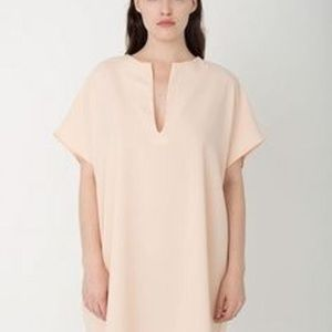 🔥NWT🔥 American Apparel Crepe Peach Dress